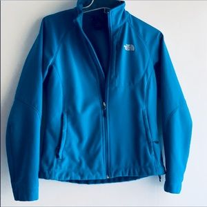 THE NORTH FACE JACKET. AQUA BLUE SZ S/P